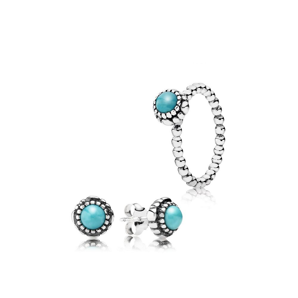 birthstone auren studs jewellery earrings products turquoise stud december