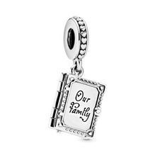 Family Book Dangle Charm
