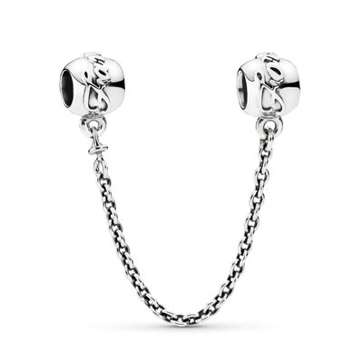 Family Ties Safety Chain, Sterling silver - PANDORA - #791788