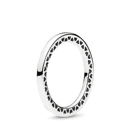 Classic Hearts of PANDORA Ring, Sterling silver - PANDORA - #196237