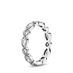 Alluring Brilliant Marquise Ring, Sterling silver, Cubic Zirconia - PANDORA - #190940CZ