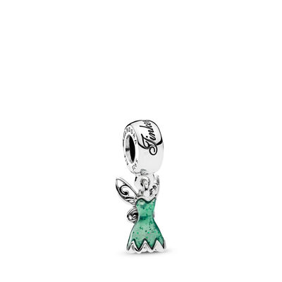 Disney, Tinker Bell's Dress Pendant Charm