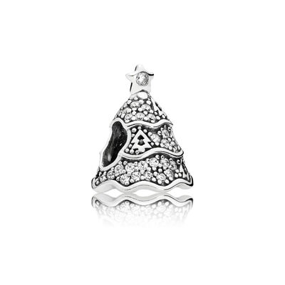 Twinkling Christmas Tree Charm