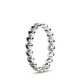 Openwork Linked Love Ring, Sterling silver - PANDORA - #190980