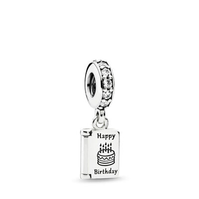 Birthday Wishes Pendant Charm