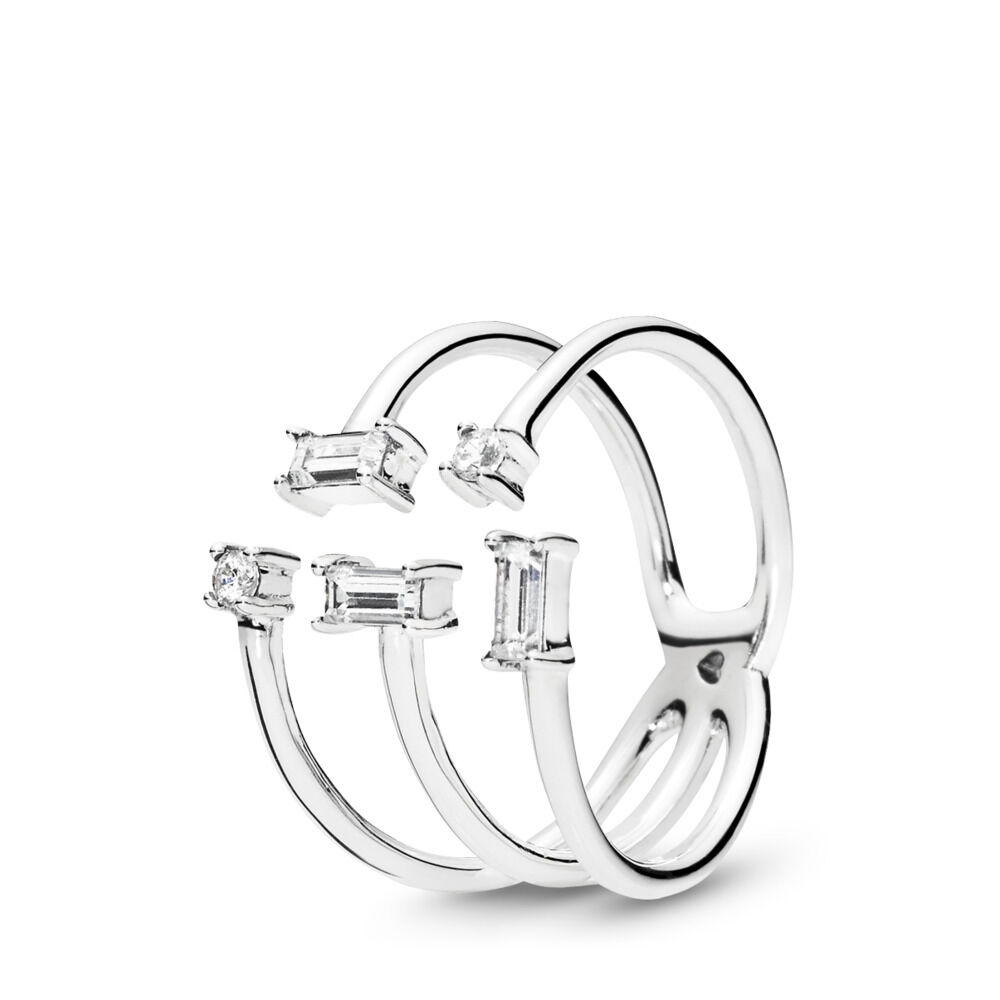 shards of sparkle ring sterling silver cubic zirconia shop pa