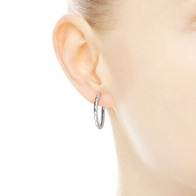Droplets Hoop Earrings