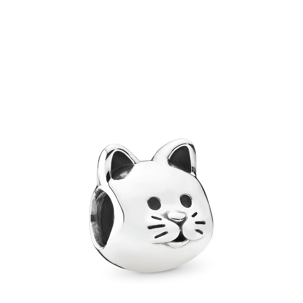 345675460 Curious Cat Charm, Sterling silver – Shop PANDORA GB