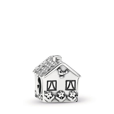 Home Sweet Home Charm, Sterling silver - PANDORA - #791267