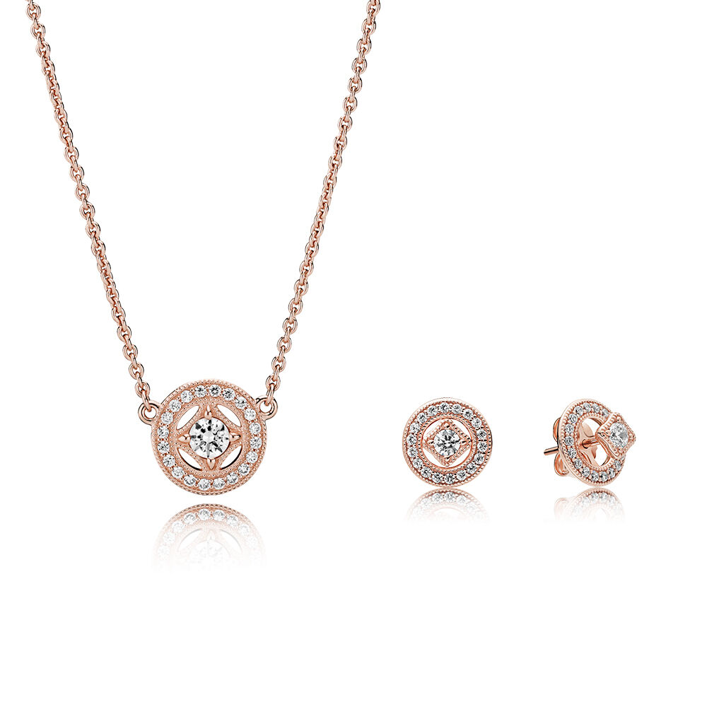 4af53f7bd PANDORA Rose Vintage Allure Gift Set – Shop PANDORA GB