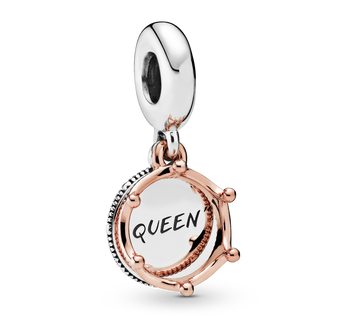 Queen & Regal Crown Dangle Charm