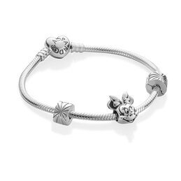 Disney, Minnie Portrait Bracelet Set - PANDORA - #B800805