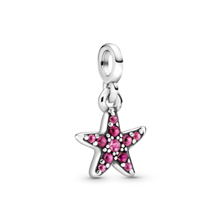 My Pink Starfish Micro Dangle Charm