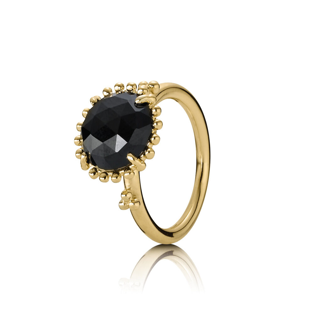 2ab501d3f Large Black Spinel Stone Ring