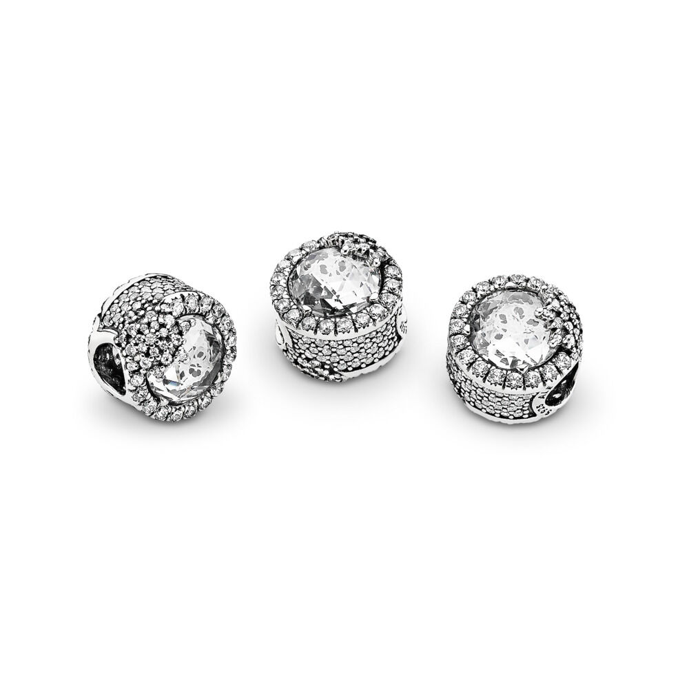 47bfc0c1a Dazzling Snowflake Charm, Sterling silver, Cubic Zirconia – Shop