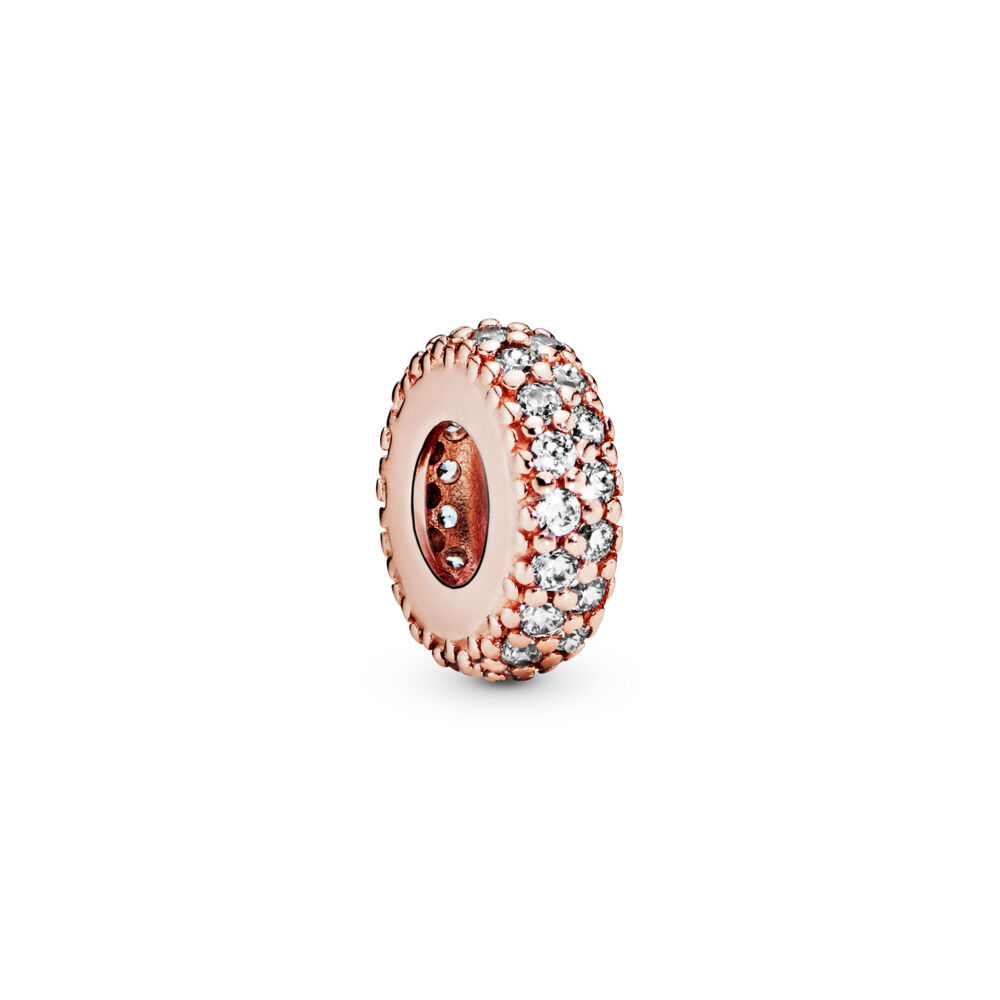 Symbol Of The Brand Spinner Her Majesty Spacer Charm Beads Fit Pandora Original Bracelet Necklace Authentic Jewelry Gift Beads Beads & Jewelry Making