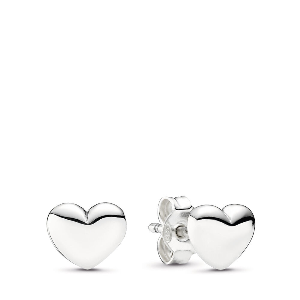Plain Heart Earrings