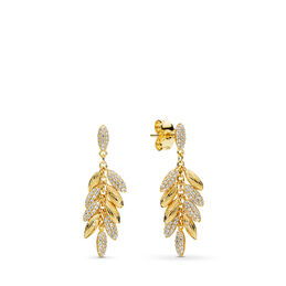 Limited Edition Floating Grains Earrings, PANDORA Shine, Cubic Zirconia - PANDORA - #267674CZ