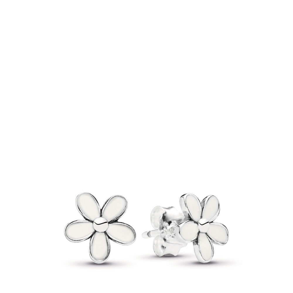 Daisy flower stud earrings shop pandora gb daisy flower stud earrings mightylinksfo