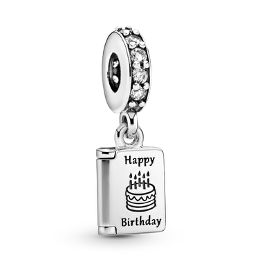 Birthday Card Dangle Charm