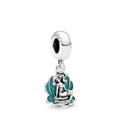 Disney ariel sea shell pendant charm pandora uk pandora es disney ariel sea shell pendant charm aloadofball Image collections