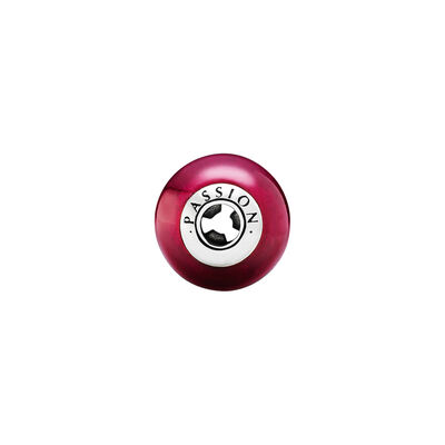 ESSENCE Passion Charm, Sterling silver, Silicone, Pink, Synthetic Ruby - PANDORA - #796007SRU