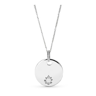 Tribute Pendant Necklace, Sterling silver - PANDORA - #397122