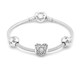 April Birthstone Bracelet - PANDORA - #B800556