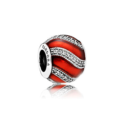 Red Adornment Charm