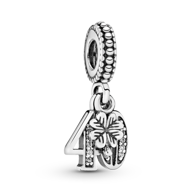 40th Celebration Dangle Charm