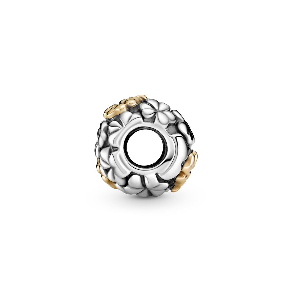 Pandora 2020 Limited Edition Four-leaf Clover Charm With 14k Gold ...