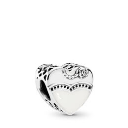 Our Special Day Charm, Sterling silver, Enamel - PANDORA - #791840ENMX