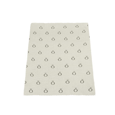 Silver Jewellery Polishing Cloth - PANDORA - #P2408-SPECIAL