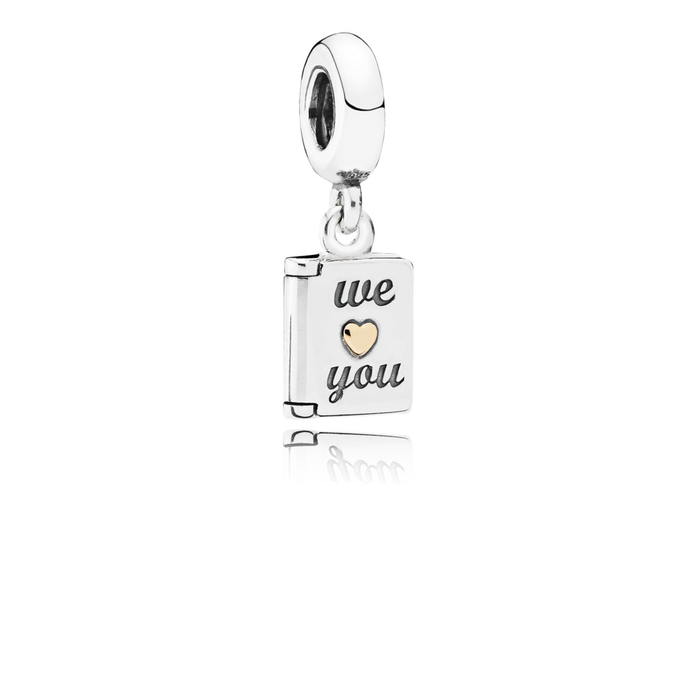 We Love You Pendant Charm
