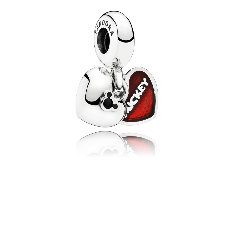 Disney, Mickey & Minnie Pendant Charm