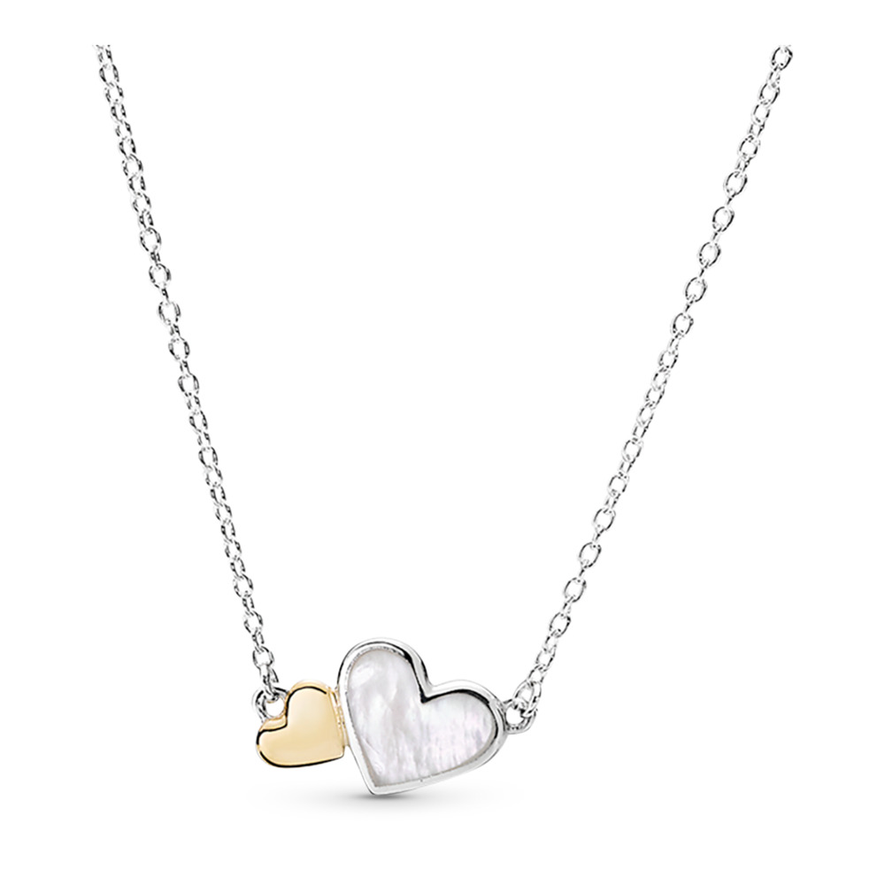 Luminous Hearts Necklace