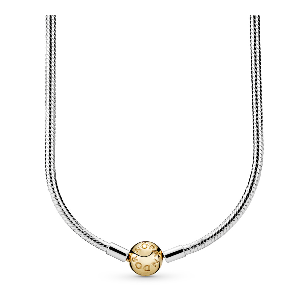 Moments Two Tone Charm Necklace