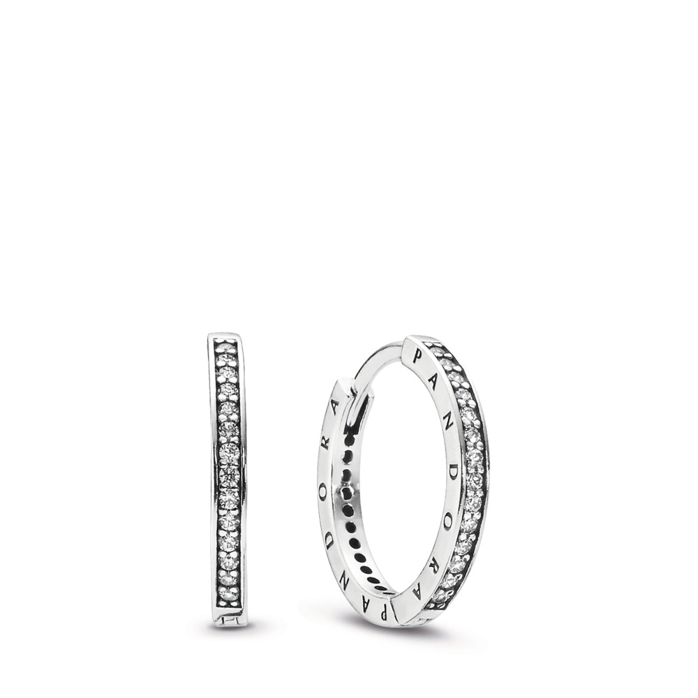 PANDORA Signature Hoop Earrings