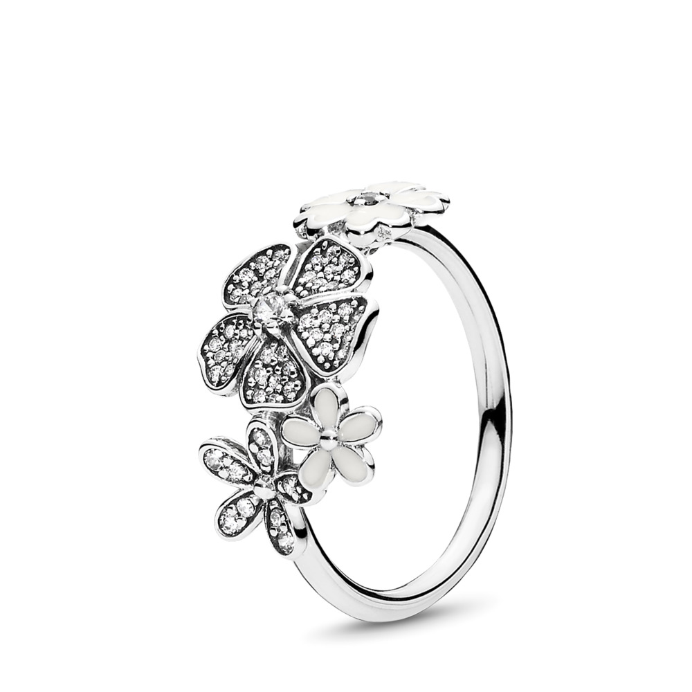 Shimmering Bouquet Ring
