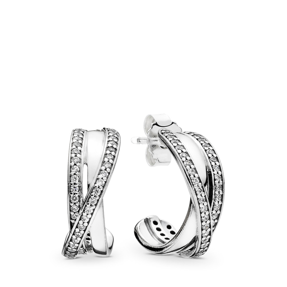 Entwined Hoop Earrings