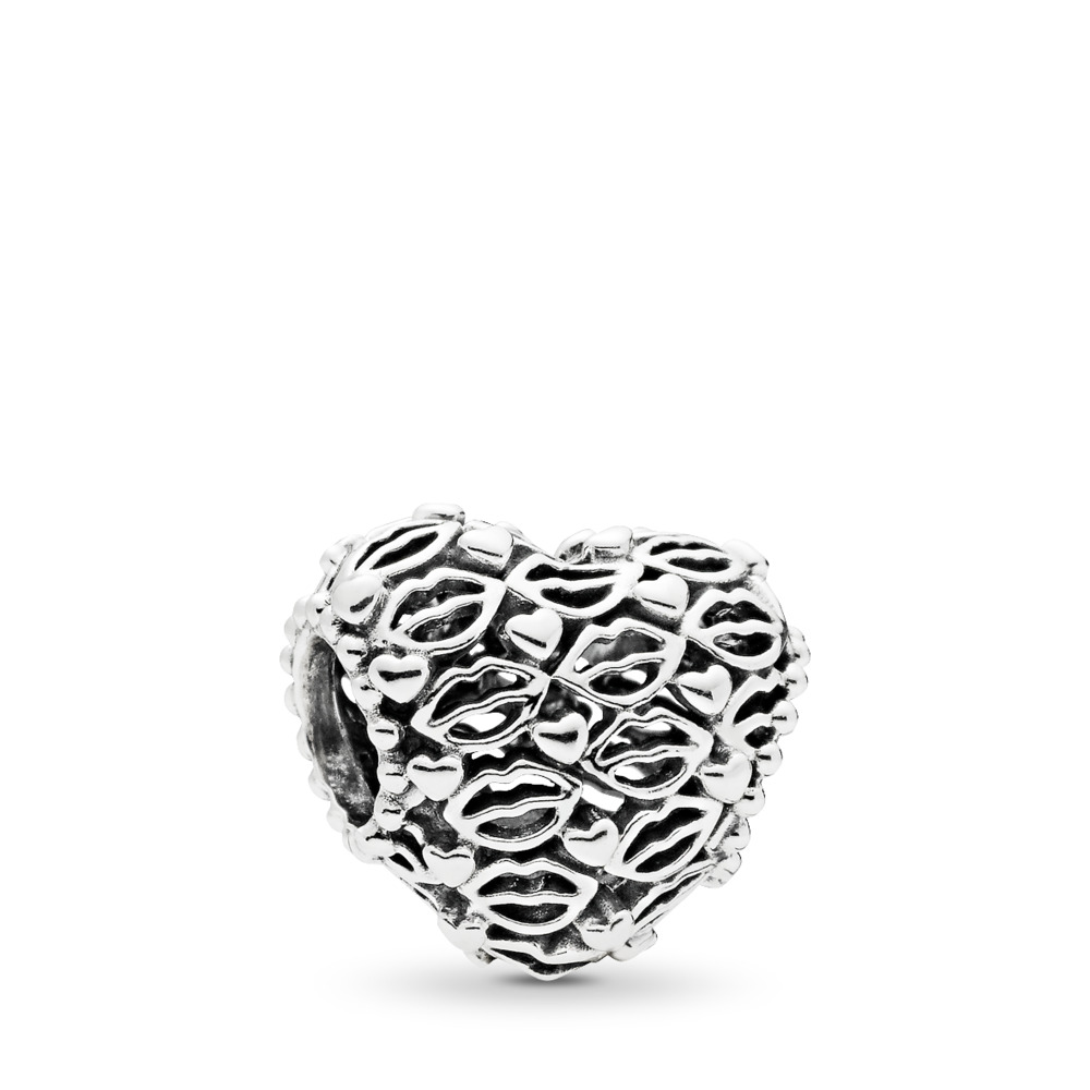 Love and Kisses Charm