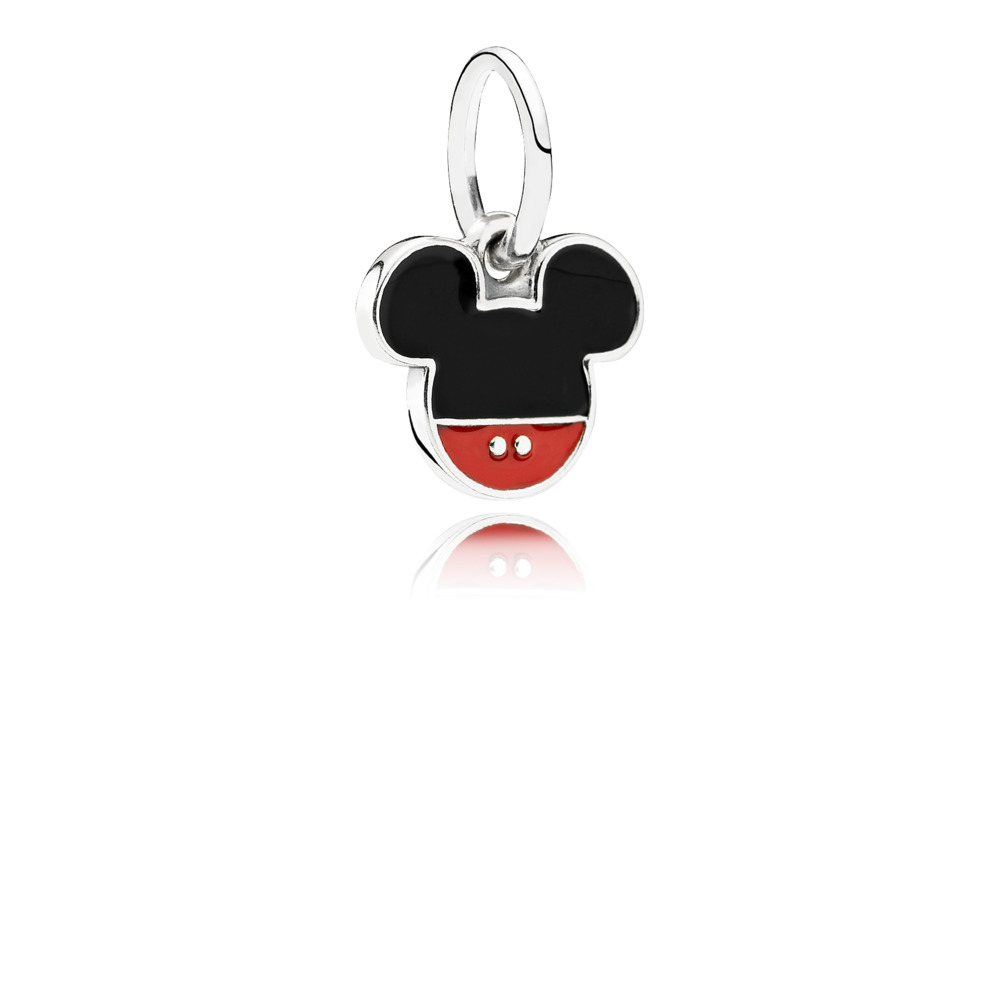 Disney, Mickey Icon Pendant Charm