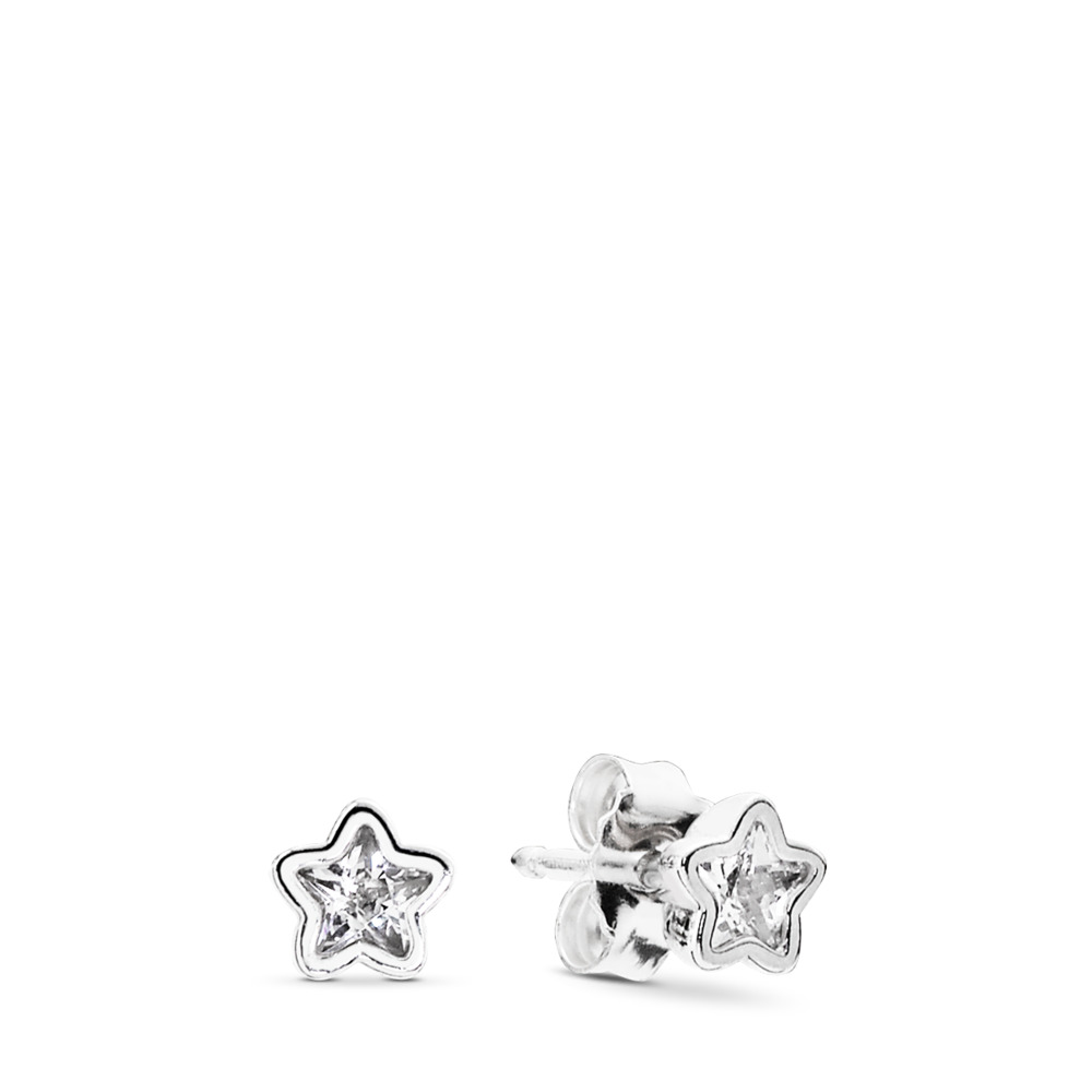 Star Shine Stud Earrings