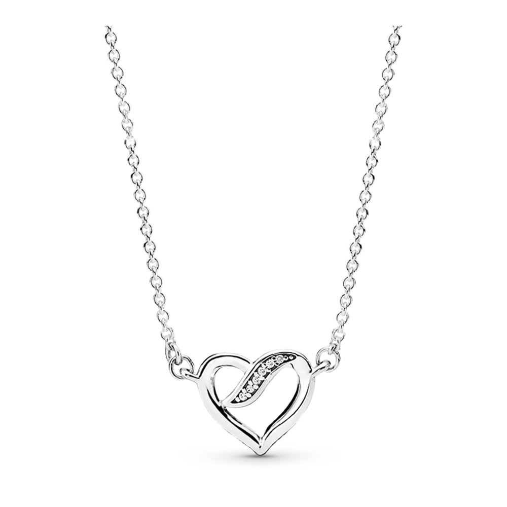 Ribbon of Love Necklace