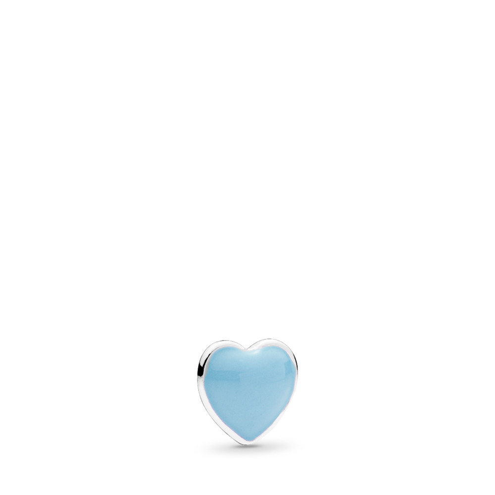 Blue Heart Petite Locket Charm