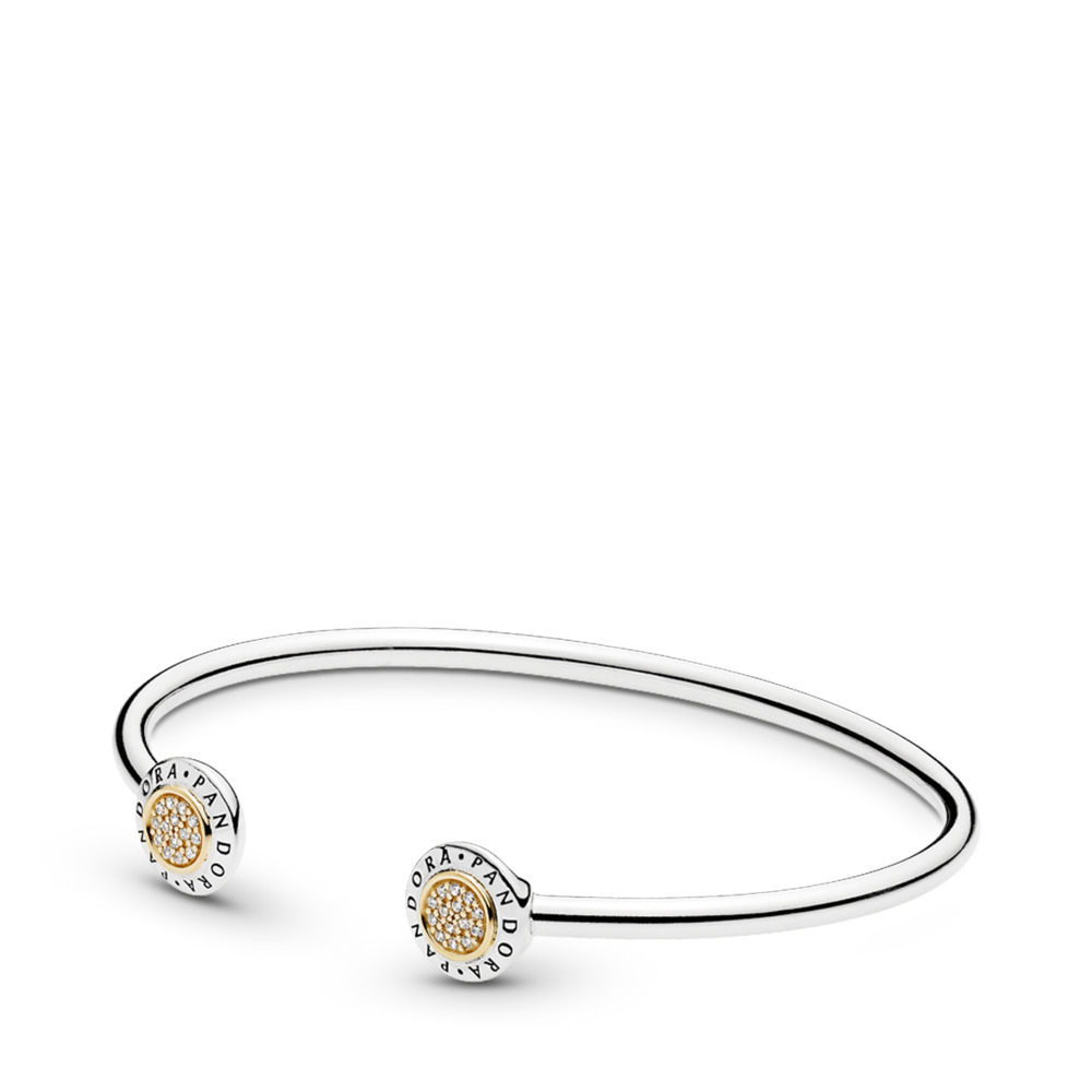 PANDORA Signature Open Bangle