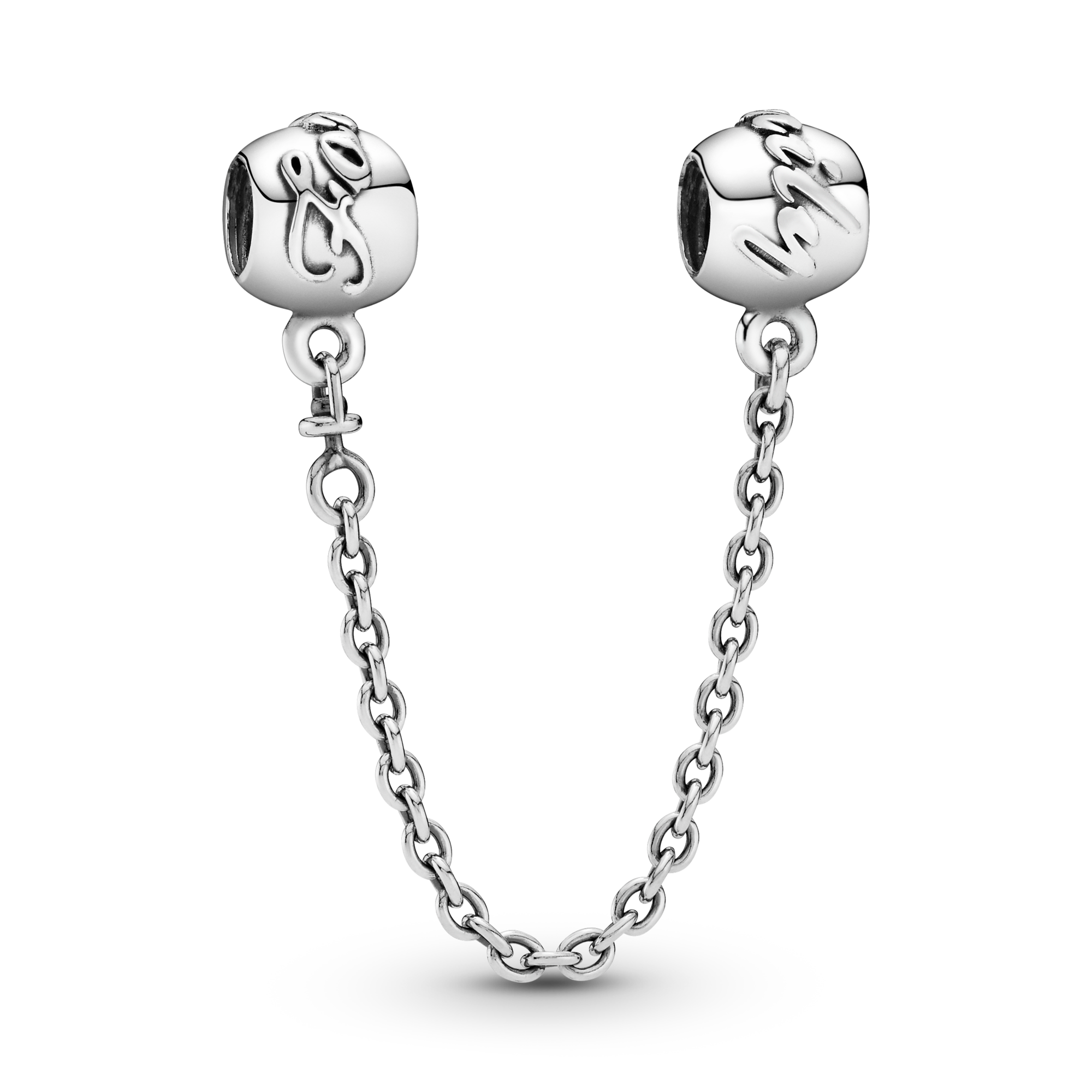 Family Forever Safety Chain Charm