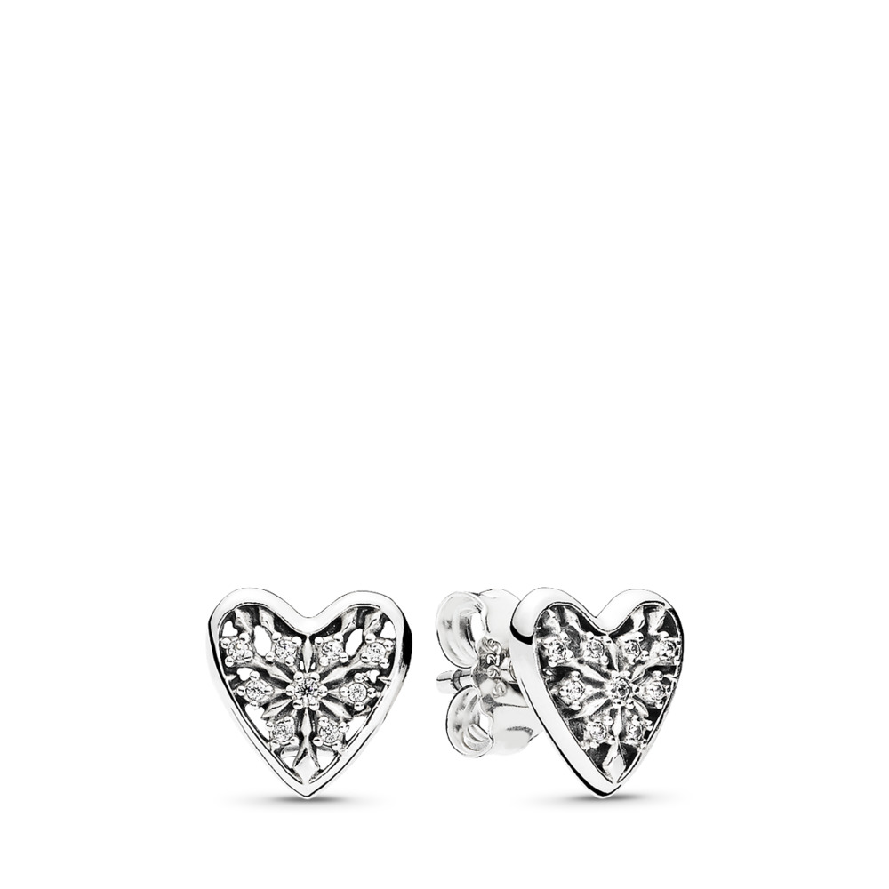 Hearts of Winter Stud Earrings