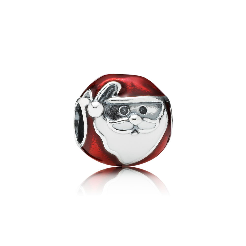 Jolly Father Christmas Charm