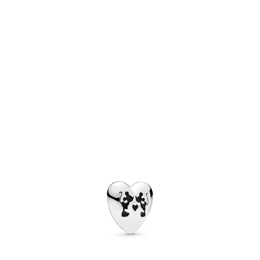 Disney, Minnie & Mickey Kiss Petite Locket Charm